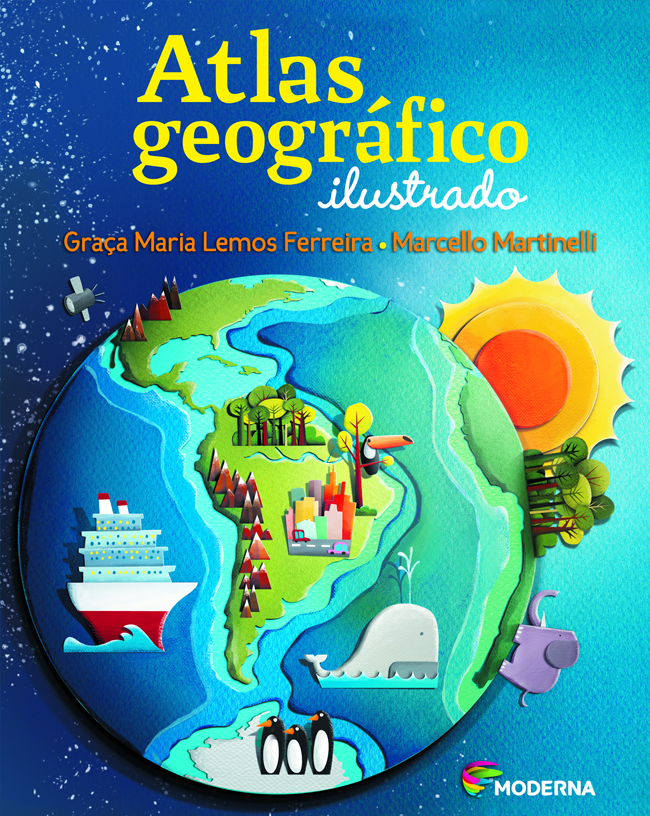 Capa do Atlas Geográfico